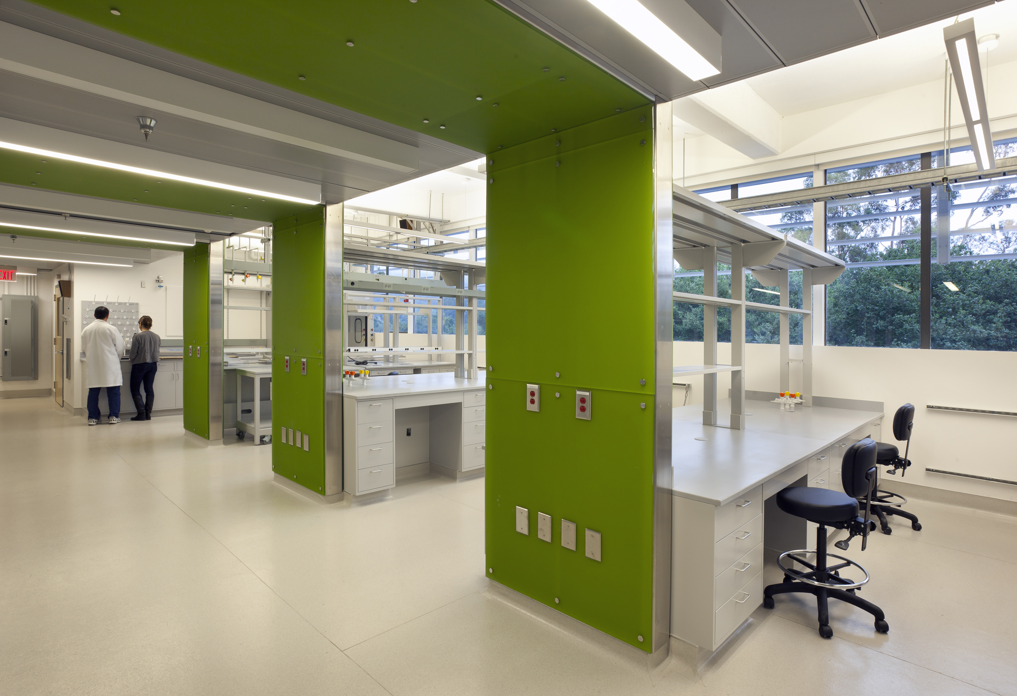 Sustainable Laboratory Design LBNLs First LEED Platinum