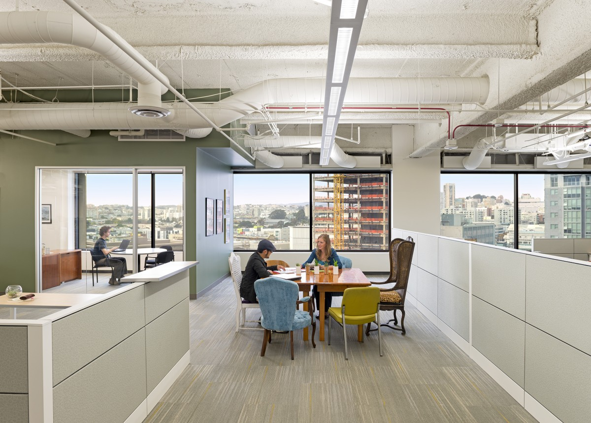 6 ways to make your workplace greener for Design office environment