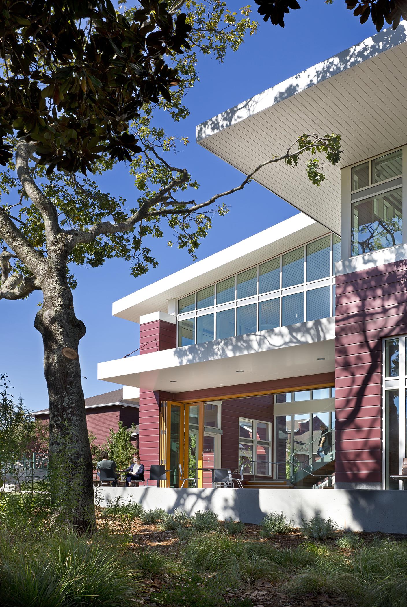 Novato Civic Center City Administrative Office Building