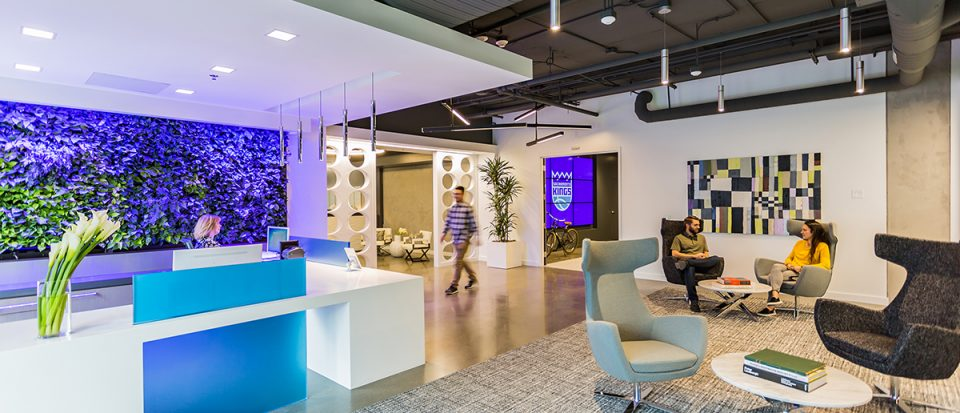 Hospitality Meets Workplace At The Kimpton Hotel For This NBA Teamu0027s  Corporate Office. Sacramento ...
